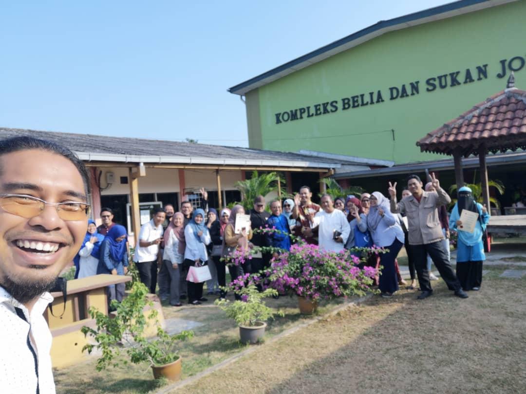 Kelas Pemasaran Digital Anjuran Jawatankuasa Kluster ICT & Latihan Kerjasama DPIM Johor 2
