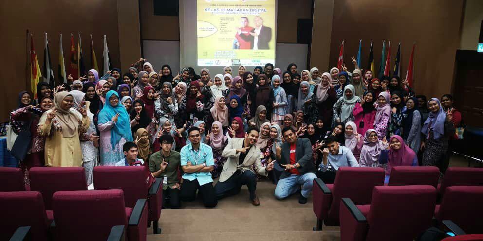 Kelas Pemasaran Digital Anjuran Jawatankuasa ICT & Latihan DPIM Pahang dan POLISAS 2