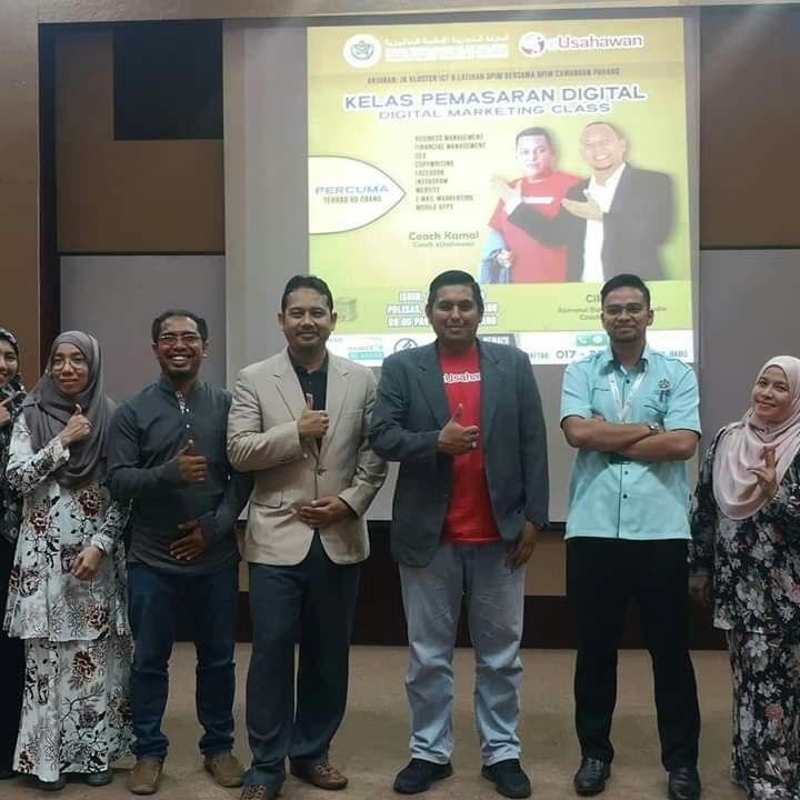 Kelas Pemasaran Digital Anjuran Jawatankuasa ICT & Latihan DPIM Pahang dan POLISAS 1