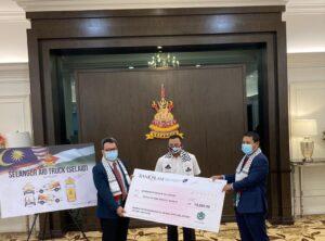 DPIM Selangor : Bersama Majlis Pelancaran Kempen Tabung Kemanusiaan Selangor Prihatin 2