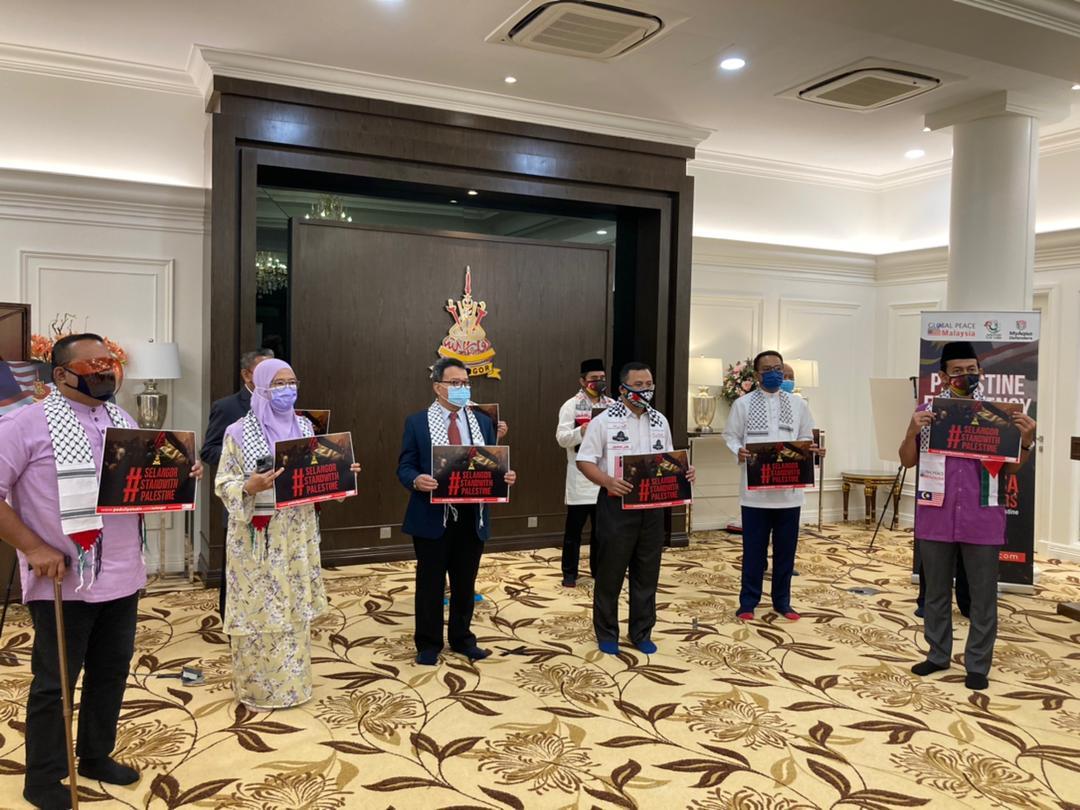 DPIM Selangor : Bersama Majlis Pelancaran Kempen Tabung Kemanusiaan Selangor Prihatin 203