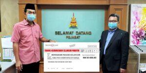 DPIM Selangor : Bersama Majlis Pelancaran Kempen Tabung Kemanusiaan Selangor Prihatin 5