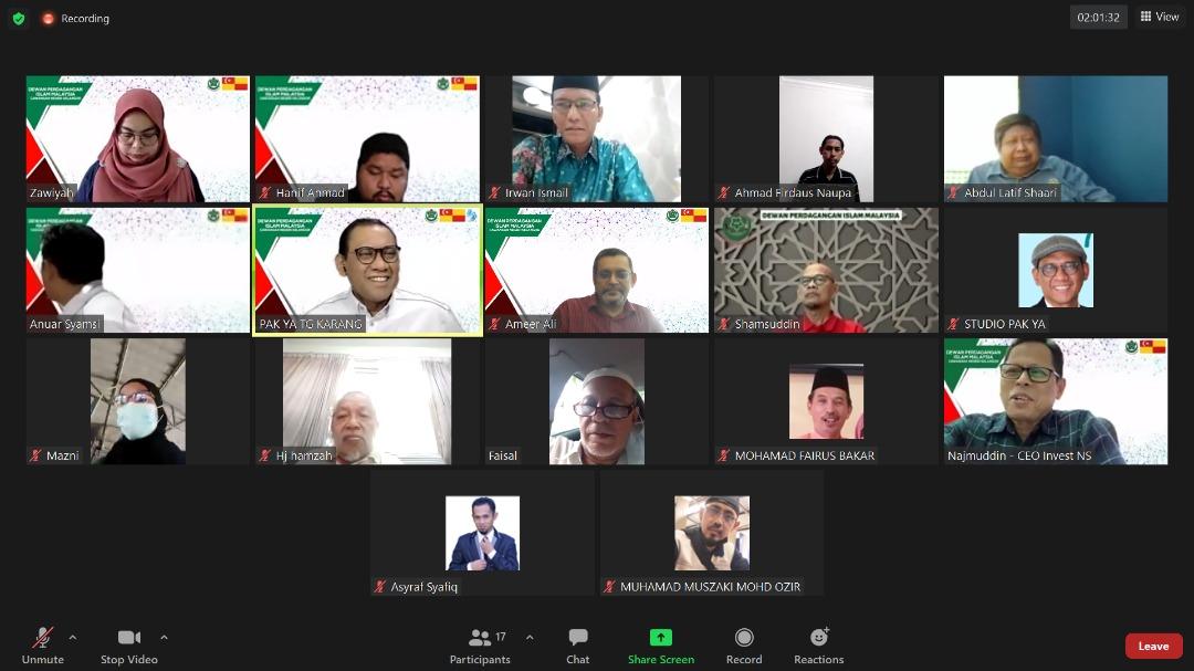 DPIM Selangor : Mesyuarat Ahli Jawatankuasa Bil 1/2021 (2021 - 2024) 71