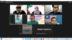 DPIM Selangor : Mesyuarat Jawatankuasa Pengurusan Bil 3/2021 1