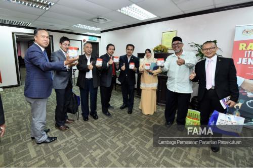Kunjungan Hormat ke FAMA