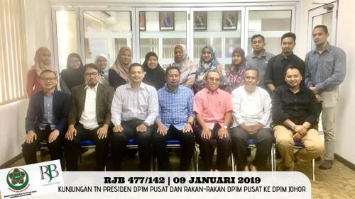 Kunjungan Mahabbah ke DPIM Johor